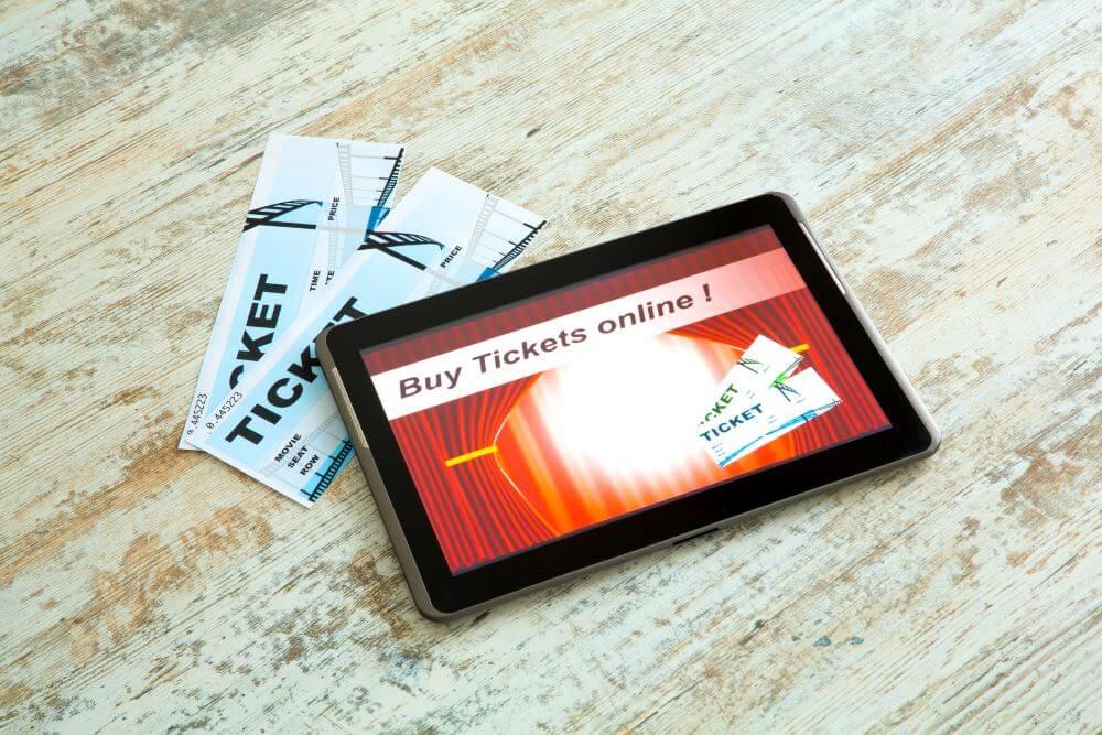 מכירת כרטיסים אונליין